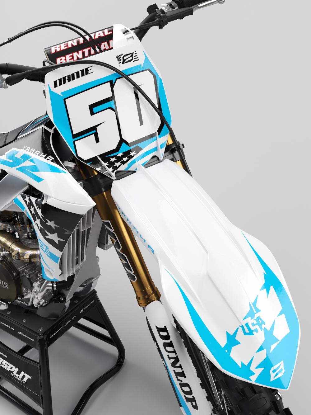 Yamaha Patriot White Kit Split Designs Co