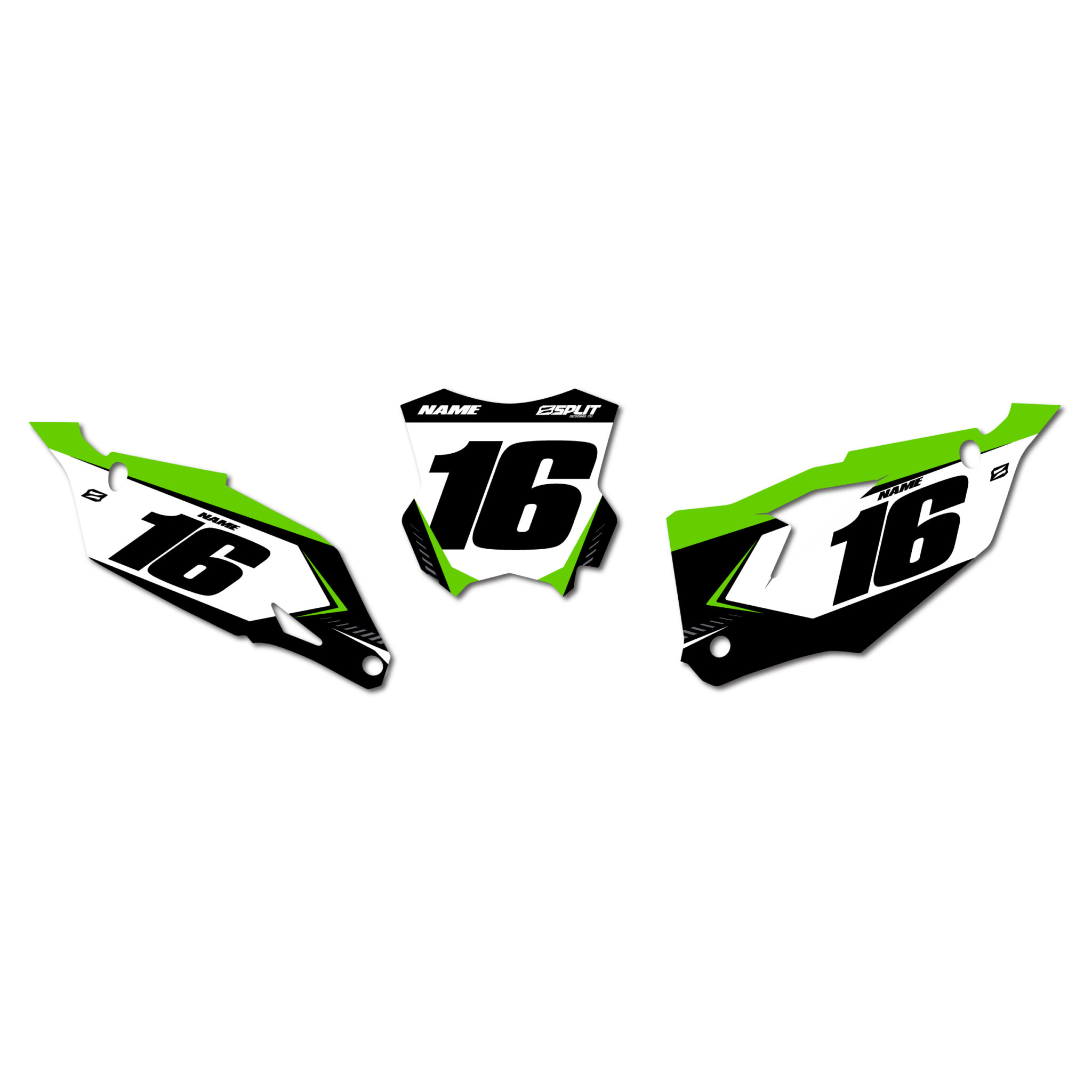 kawasaki  u2018splinter u2019 number boards  u2013 split designs co